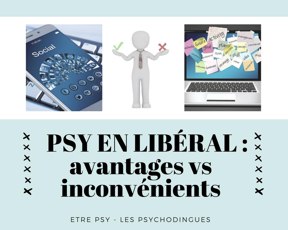 Psychologue en libéral : avantages vs inconvénients