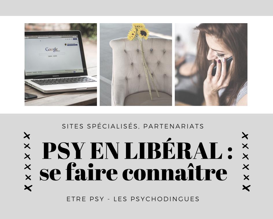 Psychologue en libéral : se faire connaître