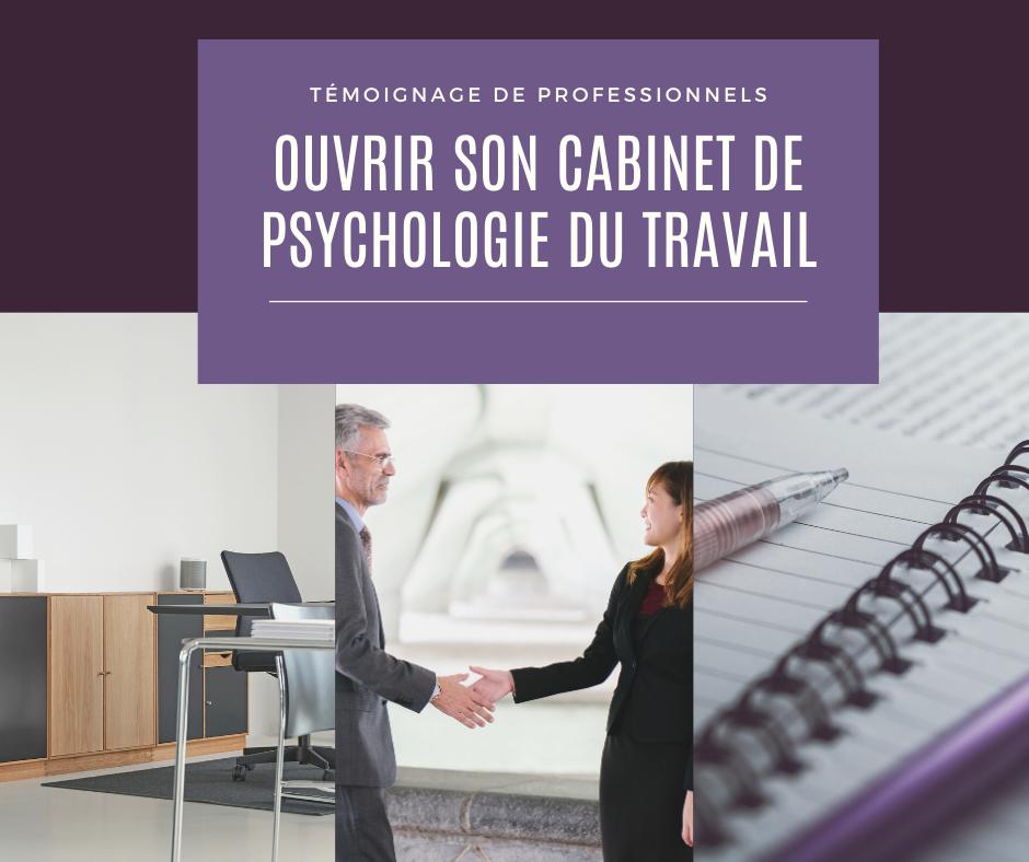 Ouvrir son cabinet de psychologie du travail et de ressources humaines